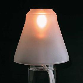 Lampada a cera liquida da altare s2