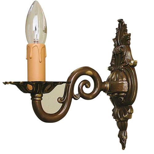 Lámpara de pared 1 brazo  estilo antiguo 1