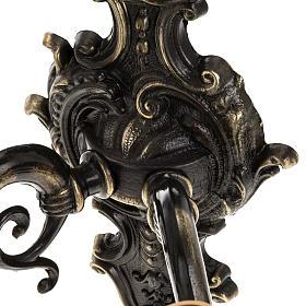 Lámpara de pared 2 brazos estilo antiguo s3