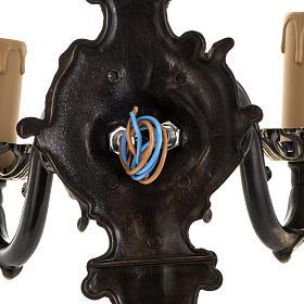 Lámpara de pared 2 brazos estilo antiguo s6