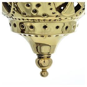 Lampe orientale pour église Moines Bethléem h 13 cm s4