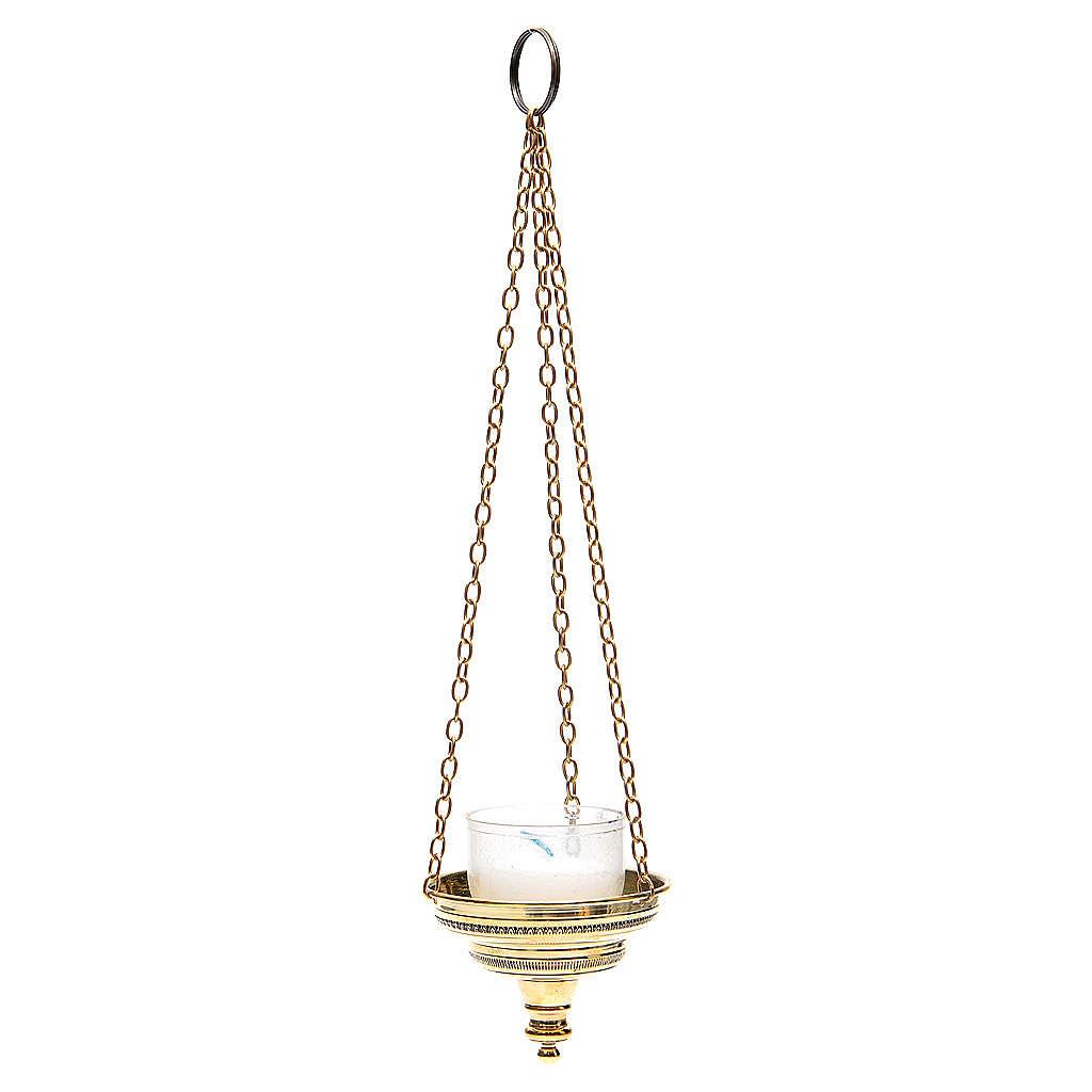 Lampe romaine pour église Moines Bethléem h 6 cm 3