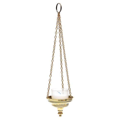 Lampe romaine pour église Moines Bethléem h 6 cm 1
