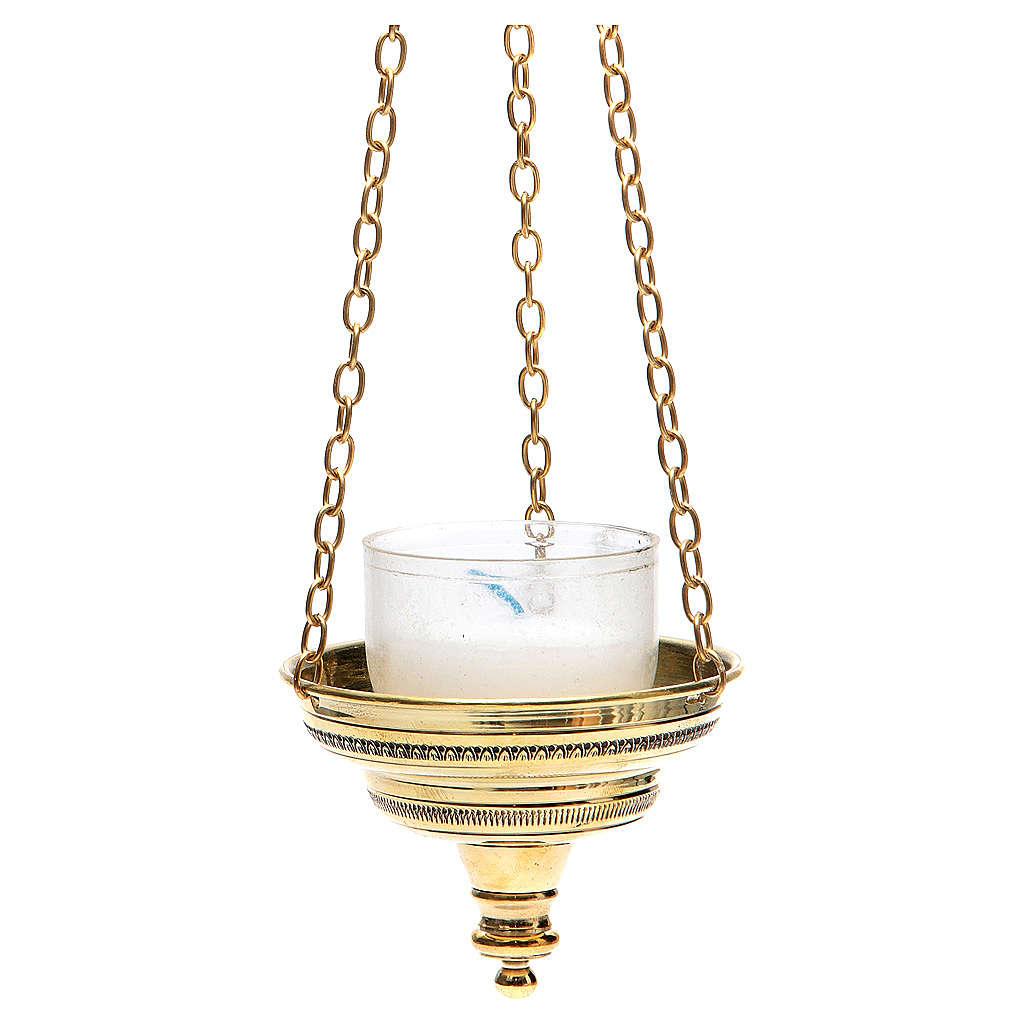 Lanterna romana per chiesa Monaci Bethléem h 6 cm 3