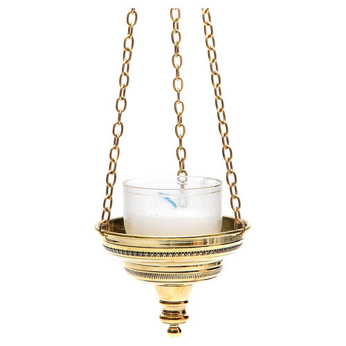 Lanterna romana per chiesa Monaci Bethléem h 6 cm 2