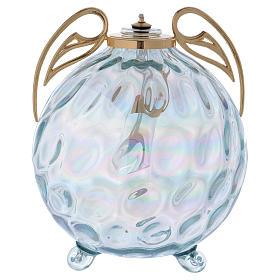 Lampada sfera con ali con cartuccia pirex s1