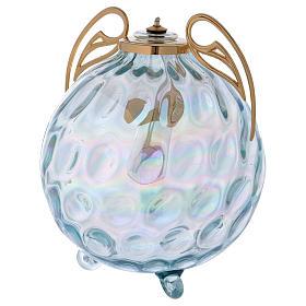 Lampada sfera con ali con cartuccia pirex s2