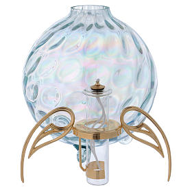 Lampada sfera con ali con cartuccia pirex s3