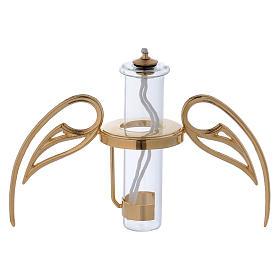 Lampada sfera con ali con cartuccia pirex s4