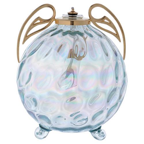 Lampada sfera con ali con cartuccia pirex 1