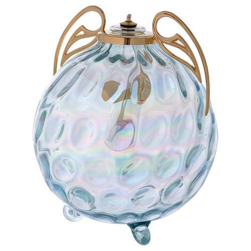 Lampada sfera con ali con cartuccia pirex 2
