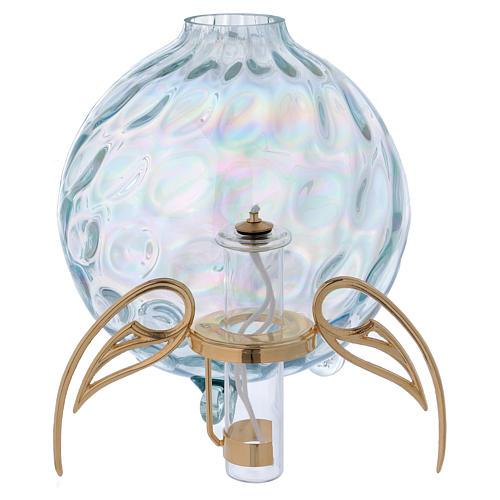 Lampada sfera con ali con cartuccia pirex 3