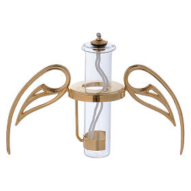 Spherical lamp with wings and pirex refill s4