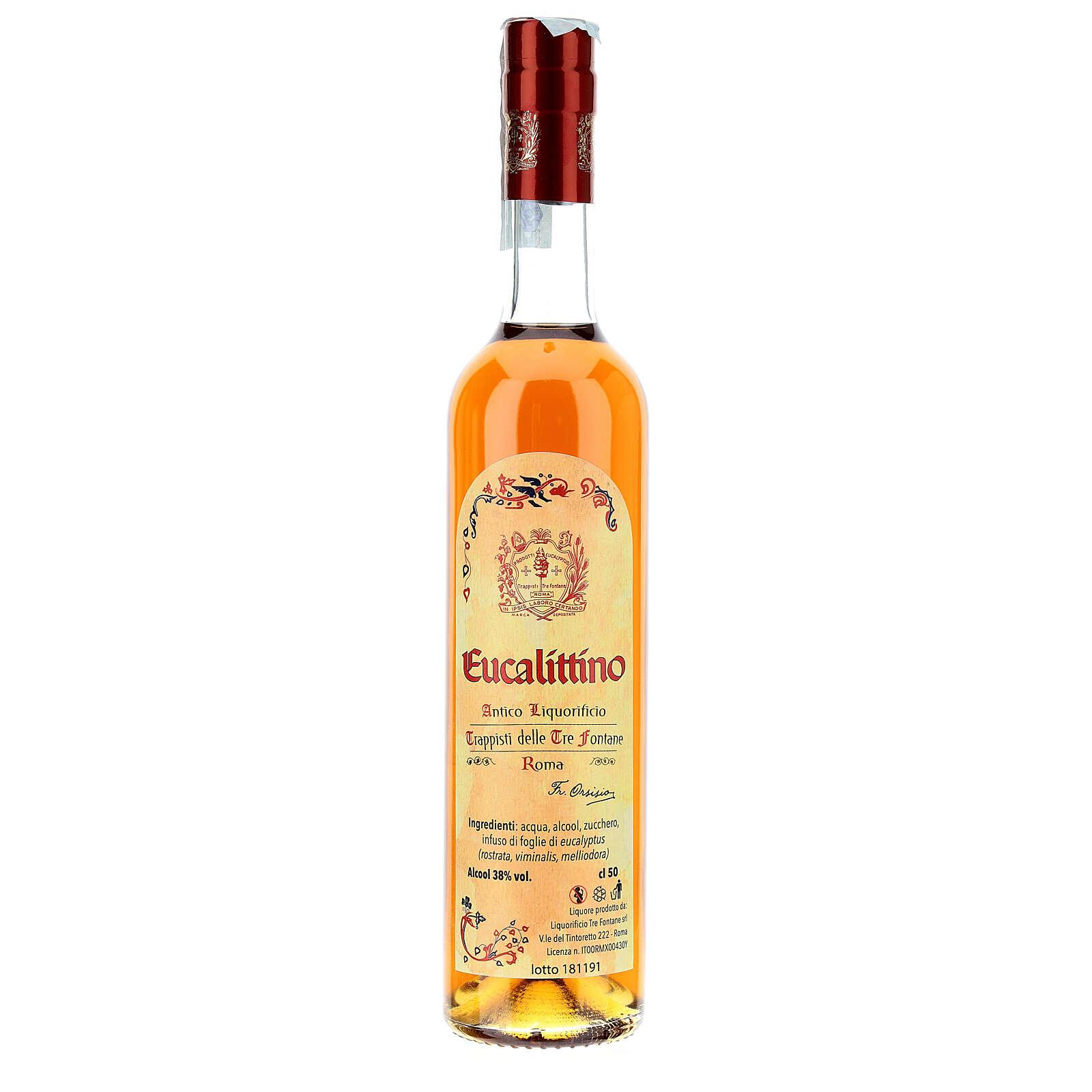 Licor de Eucalipto Tre Fontane 3