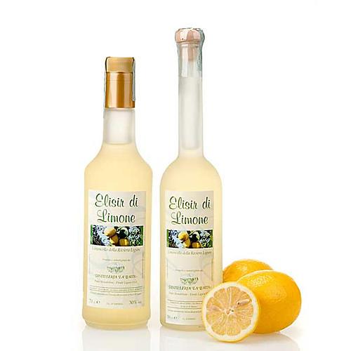 Liqueur élixir citron 1