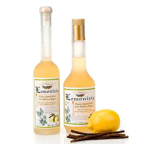 Licor menta y regaliz Lemonizia 1