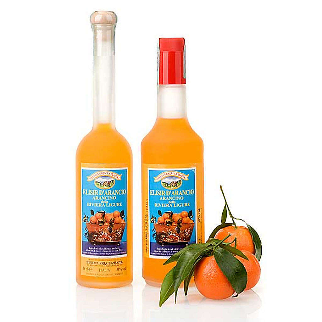 Liqueur élixir orange 3