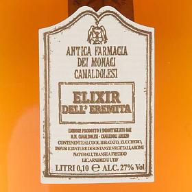 Elixir dell'eremita Mignon 100 ml. Camaldoli s2