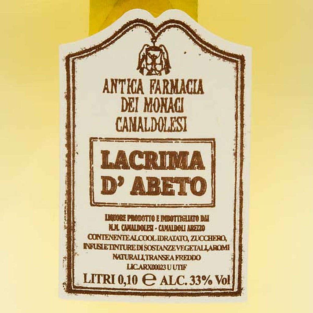 Lacrima d'Abeto Mignon 100 ml. Camaldoli 3