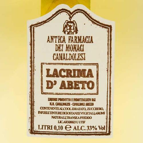 Lacrima d'Abeto Mignon 100 ml. Camaldoli 2