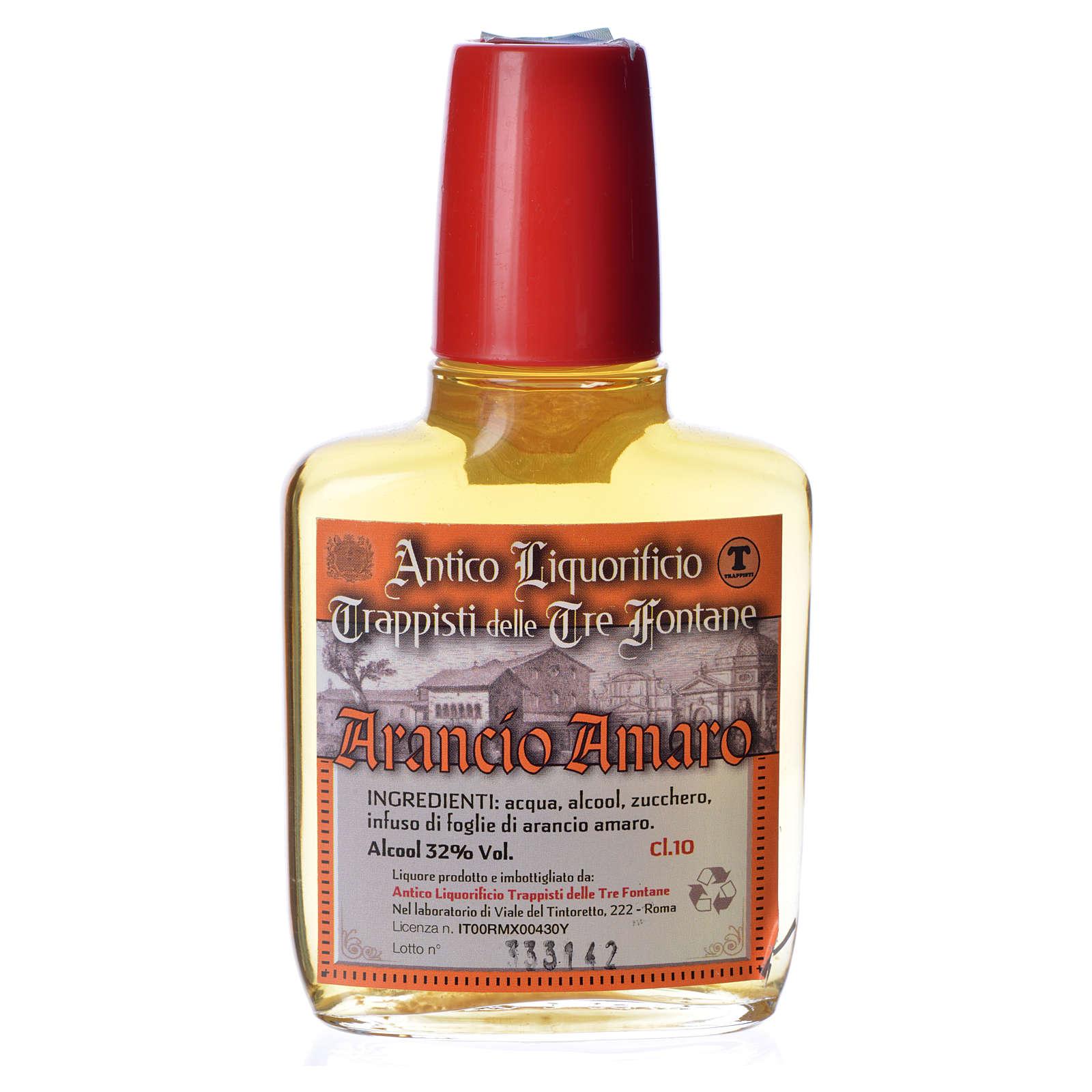 Liquore arancio amaro 100 ml Tre Fontane 3