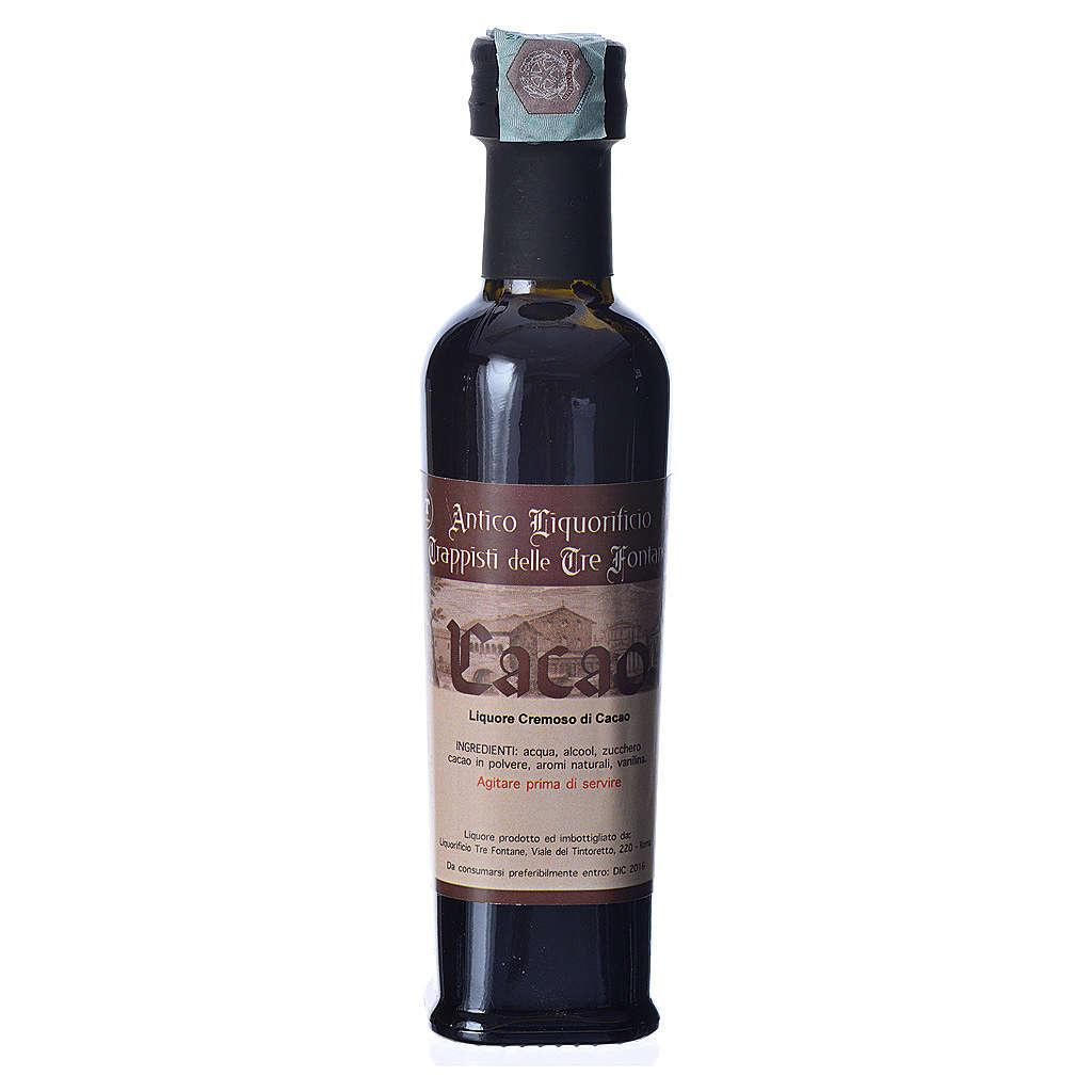 Liquore al Cacao 100 ml Tre Fontane 3