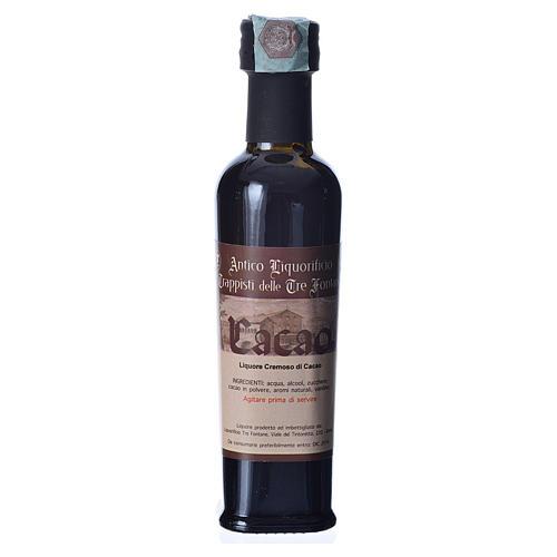 Liquore al Cacao 100 ml Tre Fontane 1