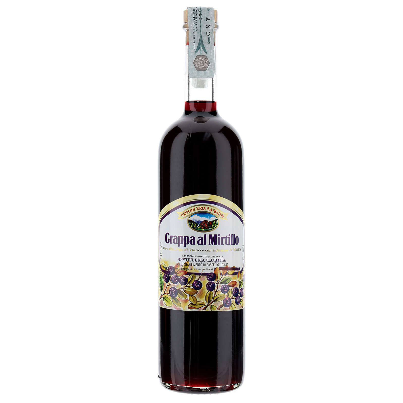 Grappa de Mirtilo 700 ml 3