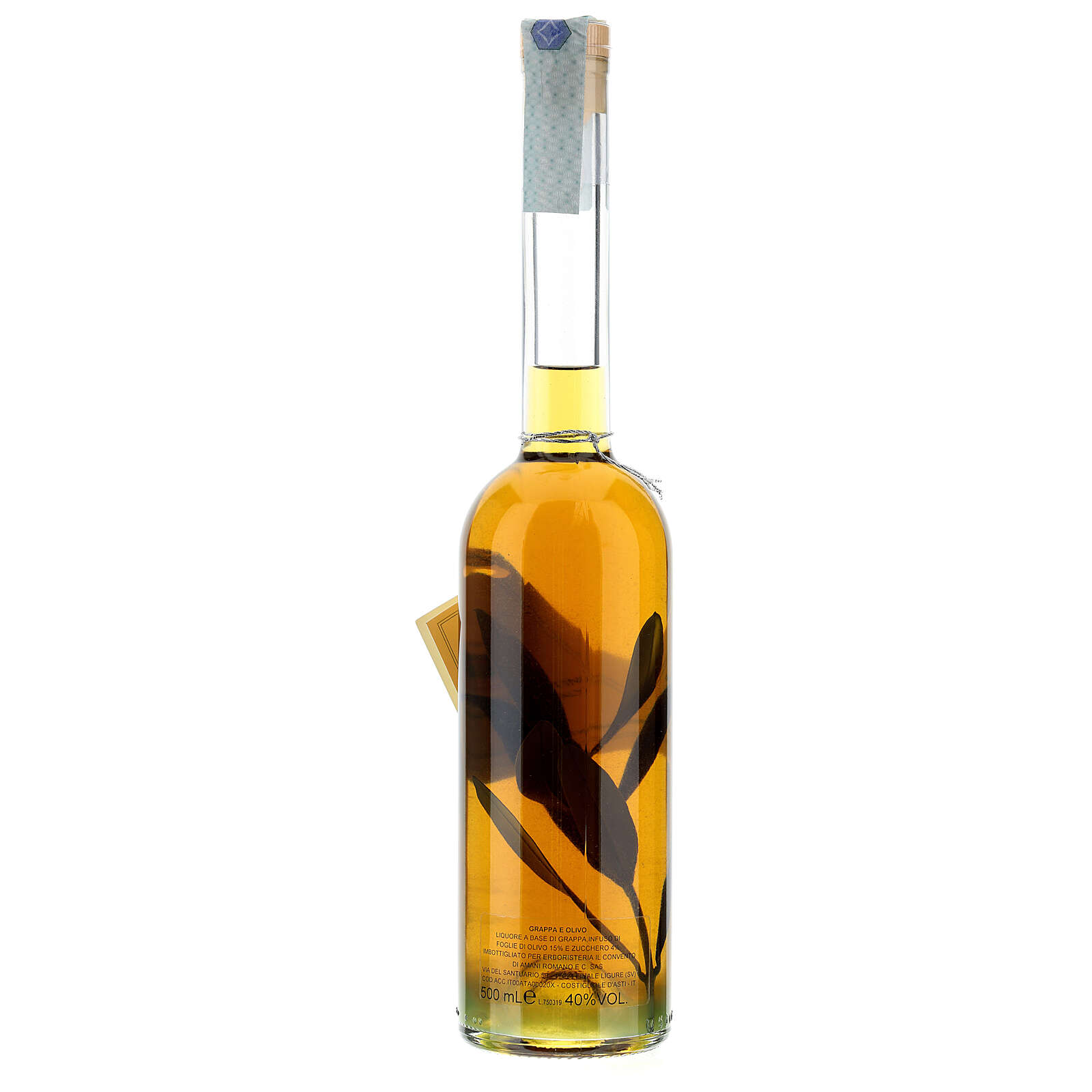 Olive flavoured grappa 3