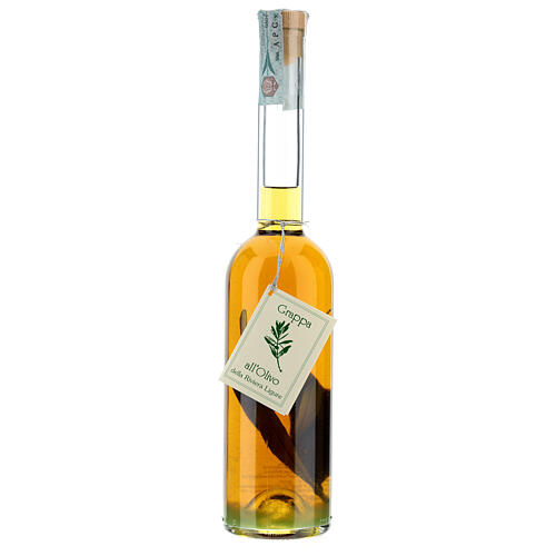 Olive flavoured grappa 1