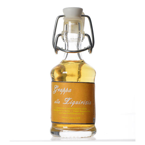 Licorice grappa 40 ml Finale Ligure 1