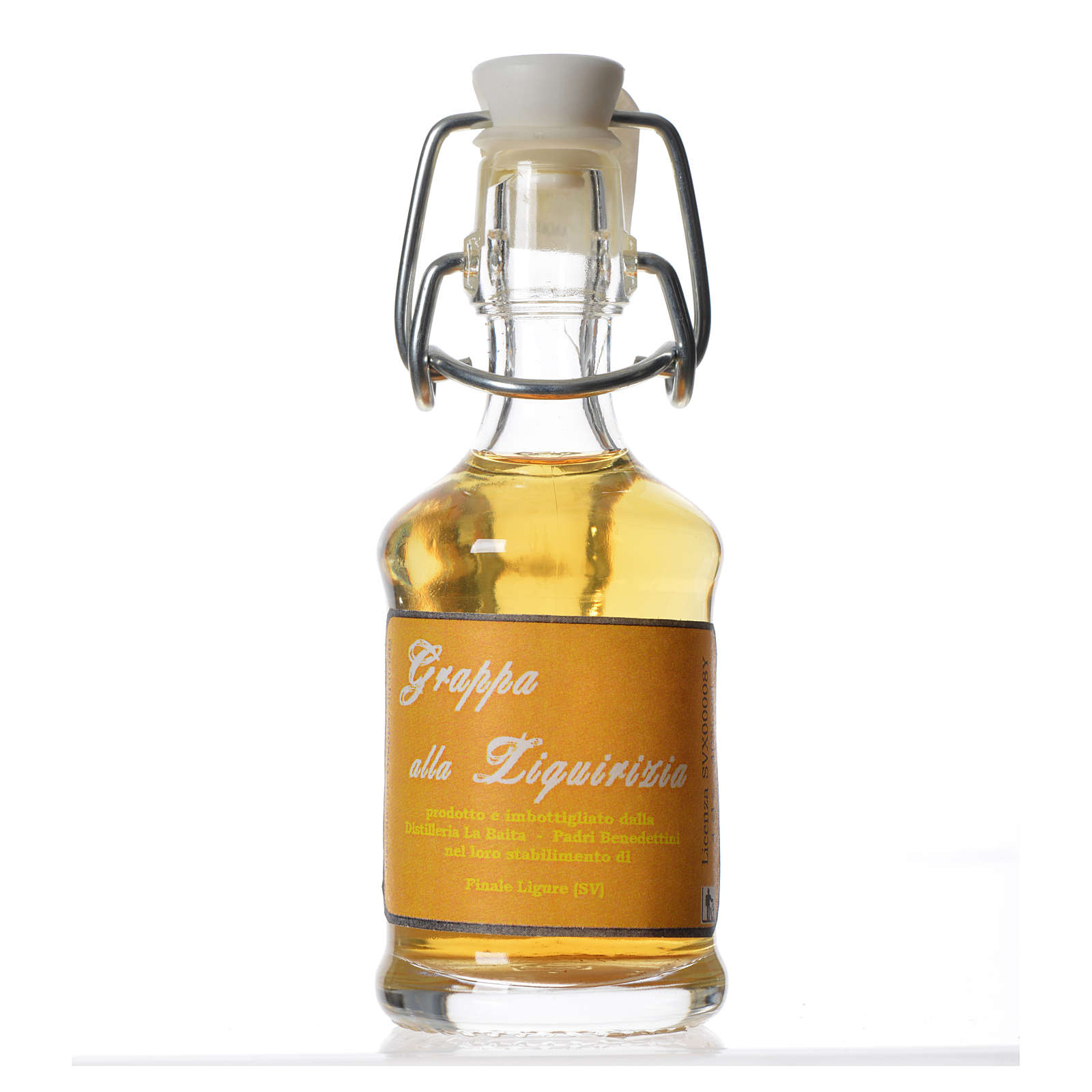 Grappa z lukrecji 40 ml Finale Ligure 3