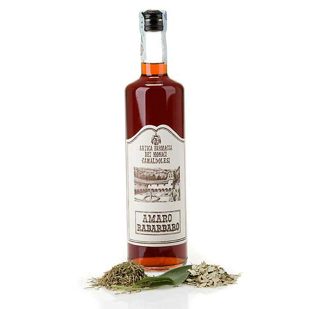 Rhubarb liqueur  Camaldoli 700 ml 3