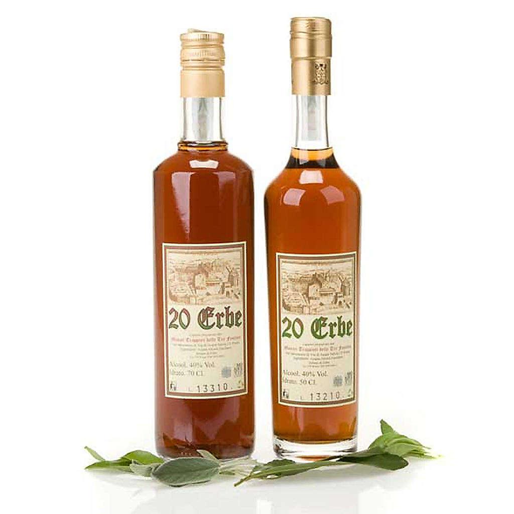 Liqueur digestif aux herbes 3