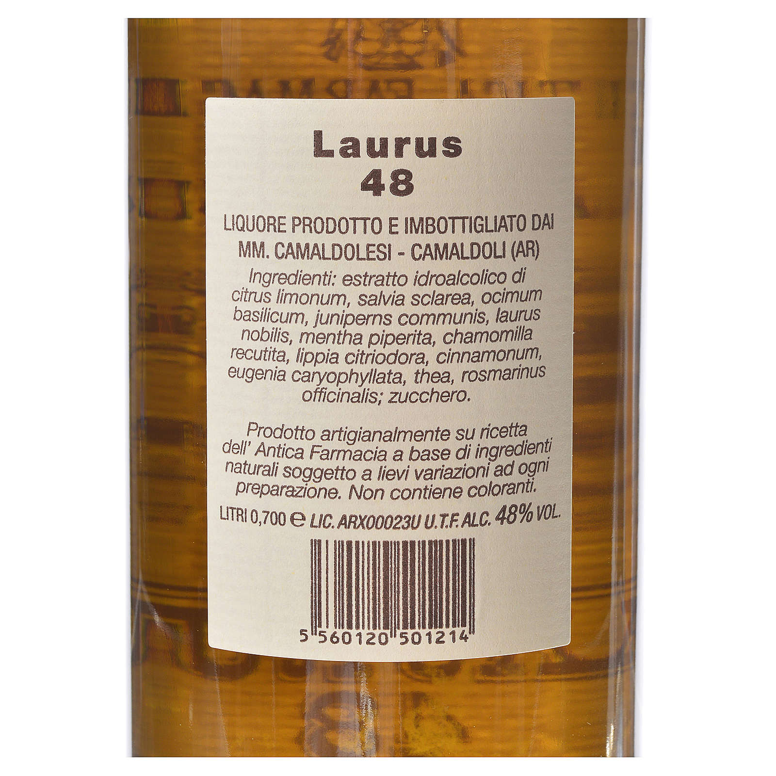 Laurus 48 di Camaldoli 700 ml 3