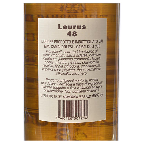 Laurus 48 di Camaldoli 700 ml 2