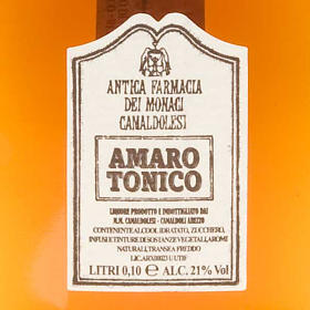 Amaro Tónico Mignon 100ml. Camaldoli s2