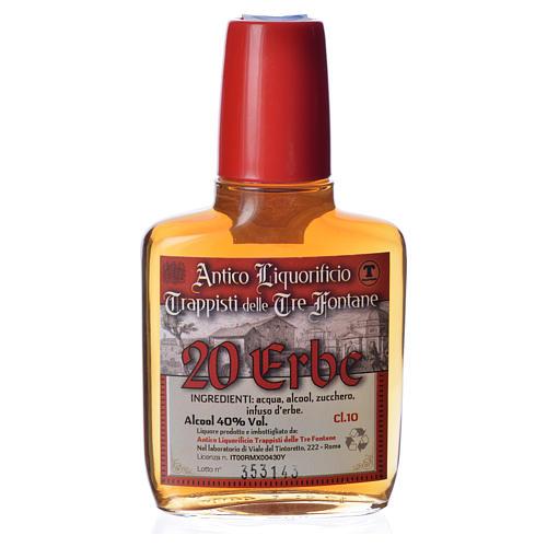 Digestivo 20 Erbe 100 ml Abbazia Tre Fontane 1