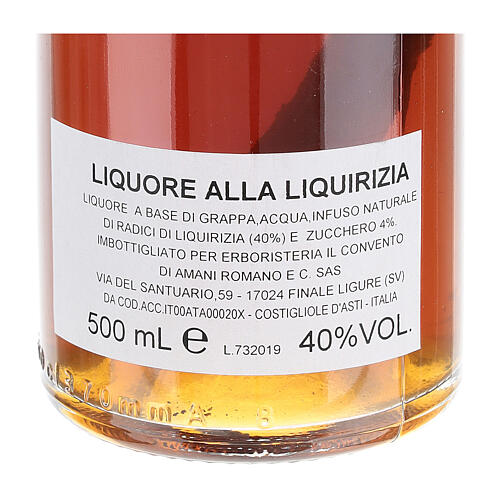 Grappa alla liquirizia 500 ml 4