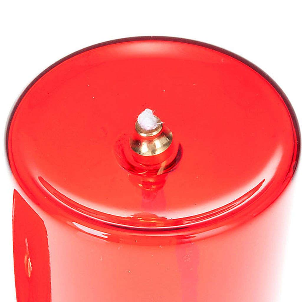 Oliwna szklana wieczna lampka 3