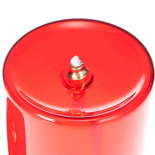 Oliwna szklana wieczna lampka 2