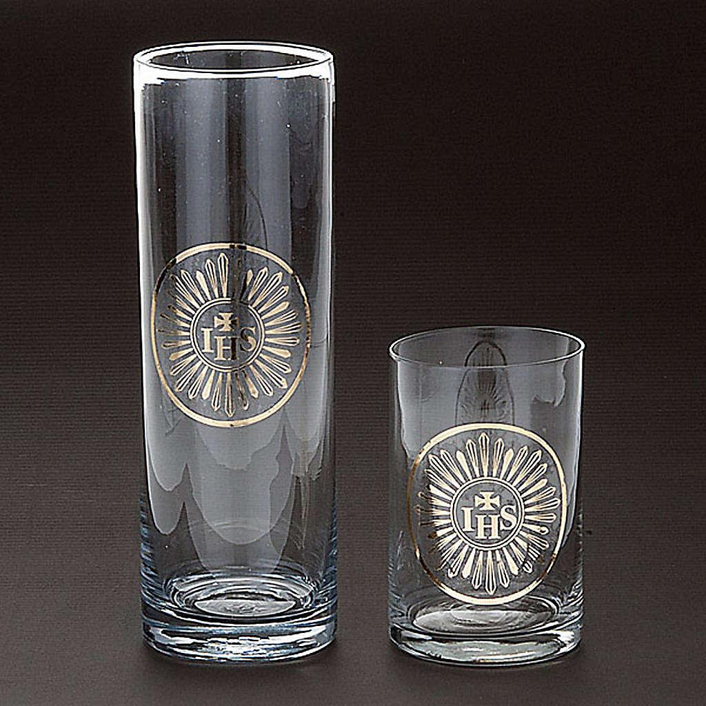 Bicchiere per Santissimo vetro trasparente 3