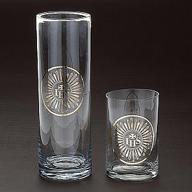 Bicchiere per Santissimo vetro trasparente s2