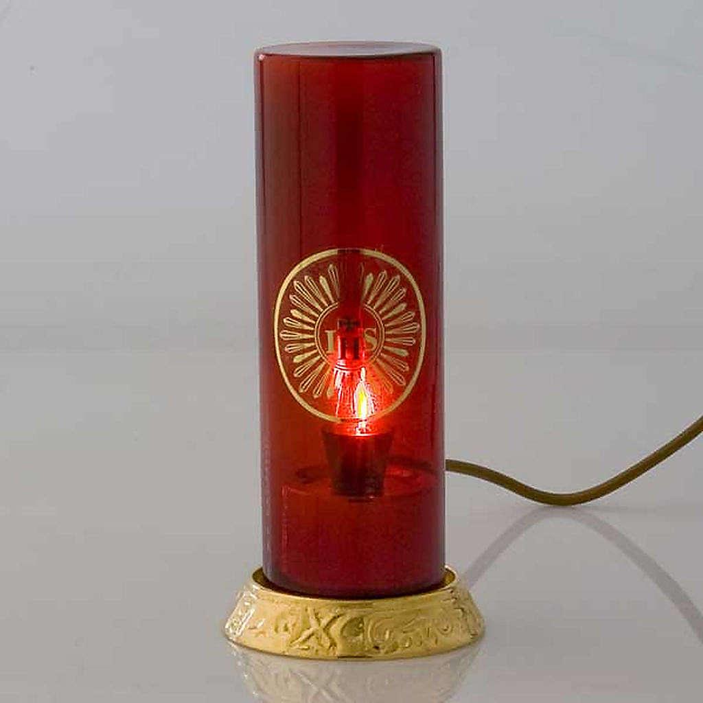 Lampada per Santissimo elettrica ottone dorato 3