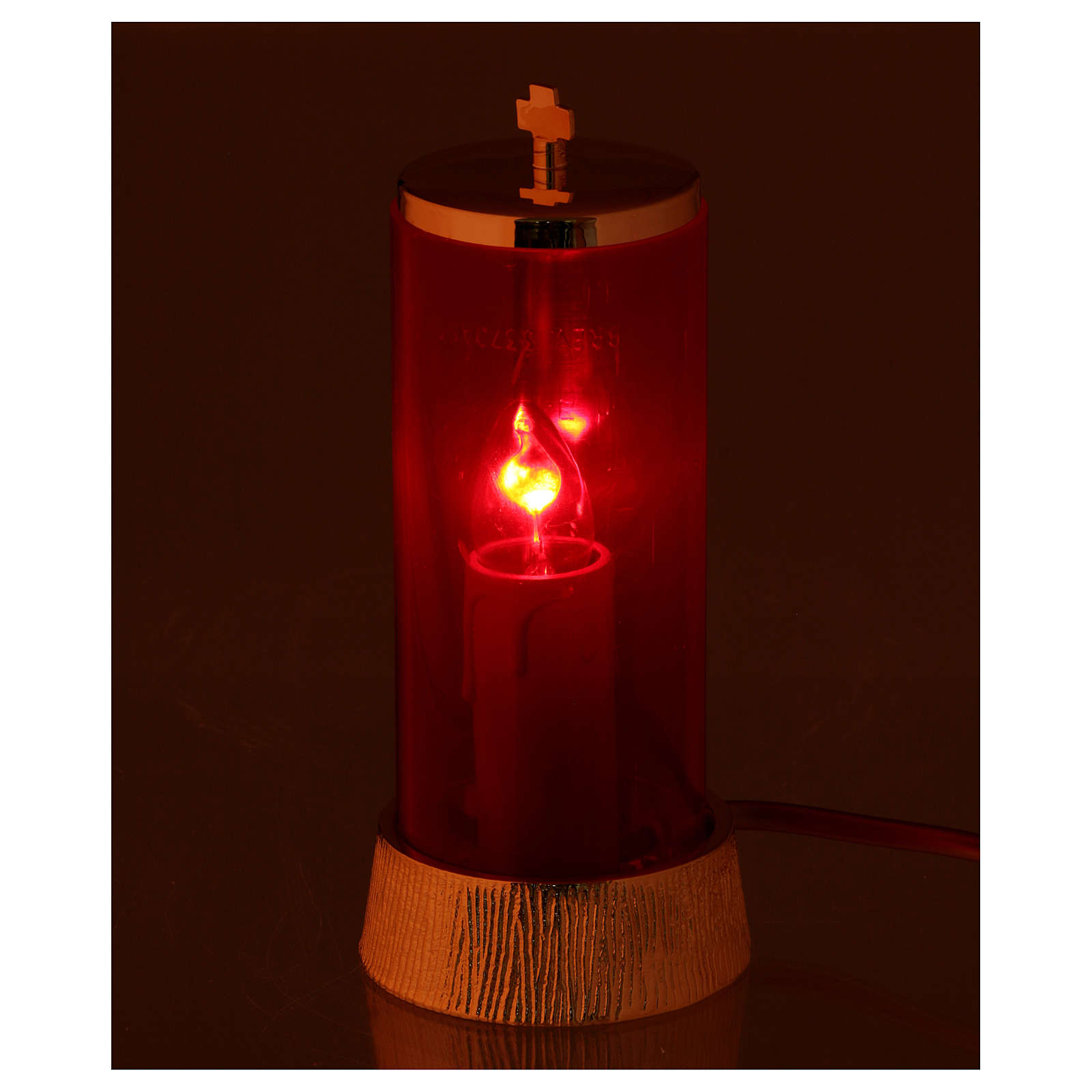 Lampada per Santissimo elettrica 220V 3