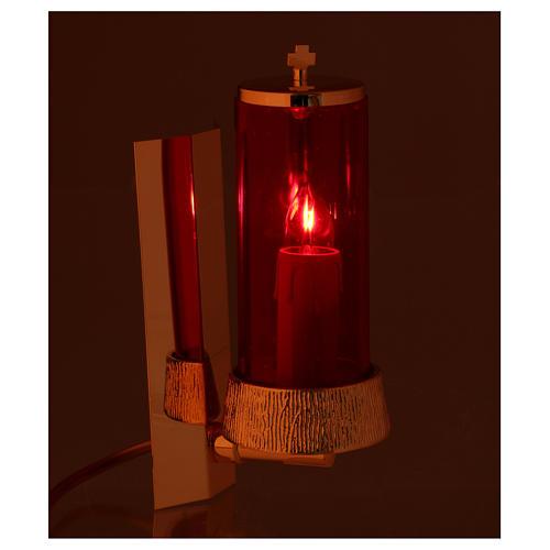 Lampe de sanctuaire murale électrique 2