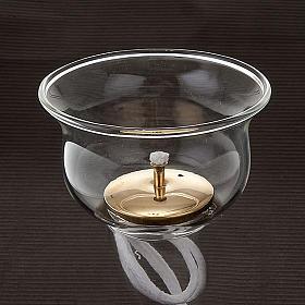 Vaso de vidrio con gigler y mecha s3