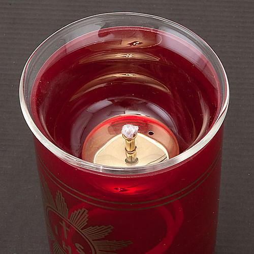 Flame de Sanctuaire verre et mèche 2