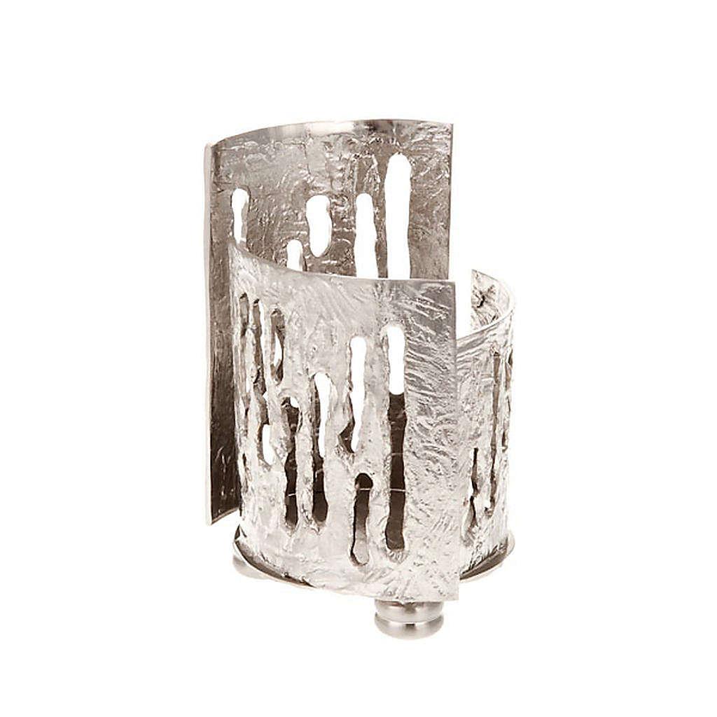Porta lámpara para el Santísimo latón nique 3