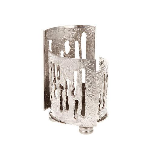 Porta lámpara para el Santísimo latón nique 4